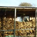 The Workshop woodpile