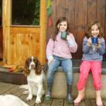 Maisie, Niamh and Louis
